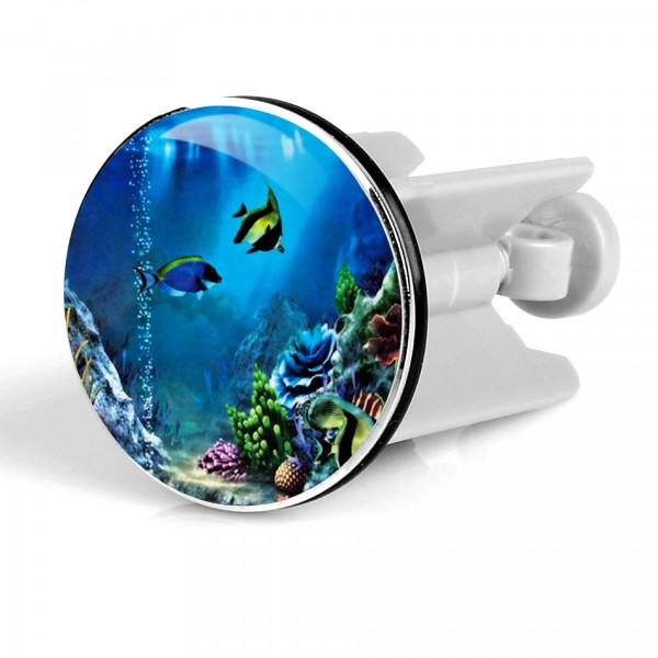 Waschbeckenstöpsel Aquarium