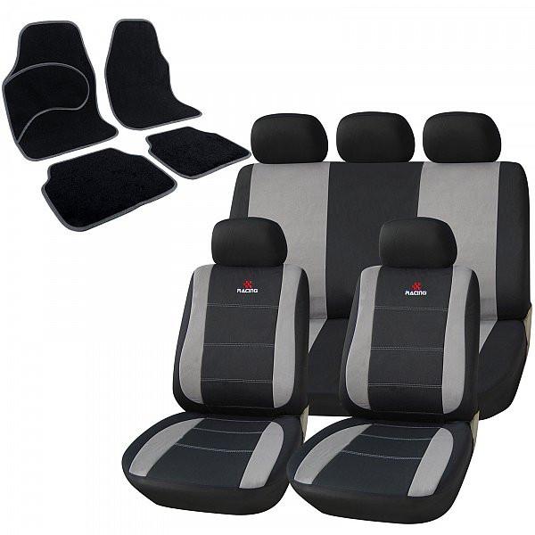 Auto Sitzbezüge + Fußmatten mit RACING