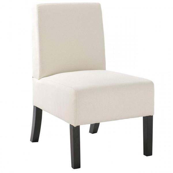 Esszimmerstuhl Relaxsessel Dicke Polsterung aus Leinen+ Massivholz
