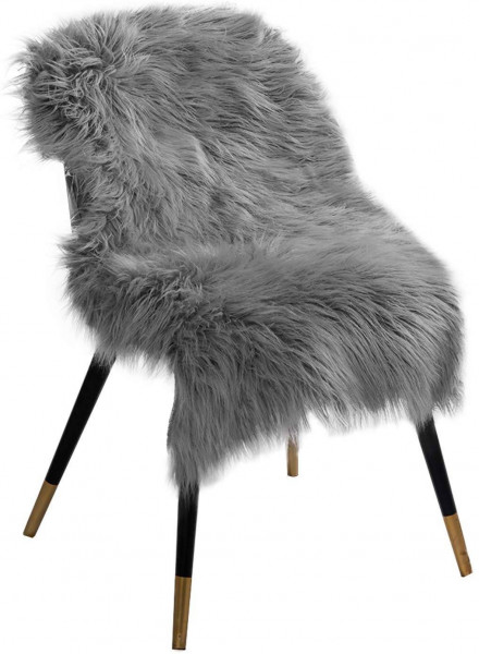 Faux lambskin / sheepskin rug