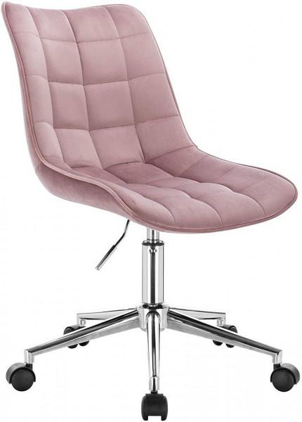 Velvet work stool - model Elif