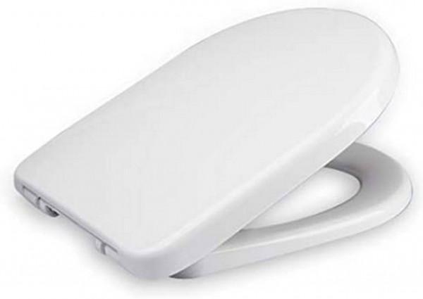 WC-Sitz Kunststoff Weiß mit Absenkautomatik WS2545