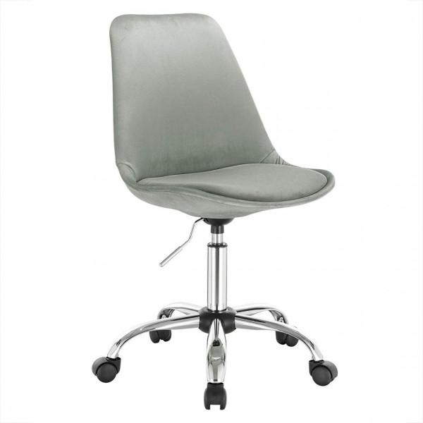 Velvet office chair
