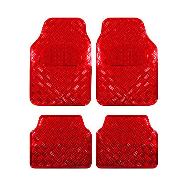 Auto Fußmatten Rot