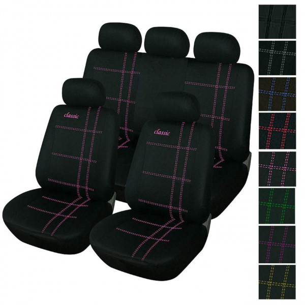 Car seat covers made of polyester in Classic line