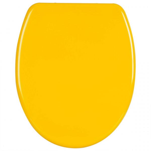 WC-Sitz Duroplast Gelb mit Absenkautomatik WS2599