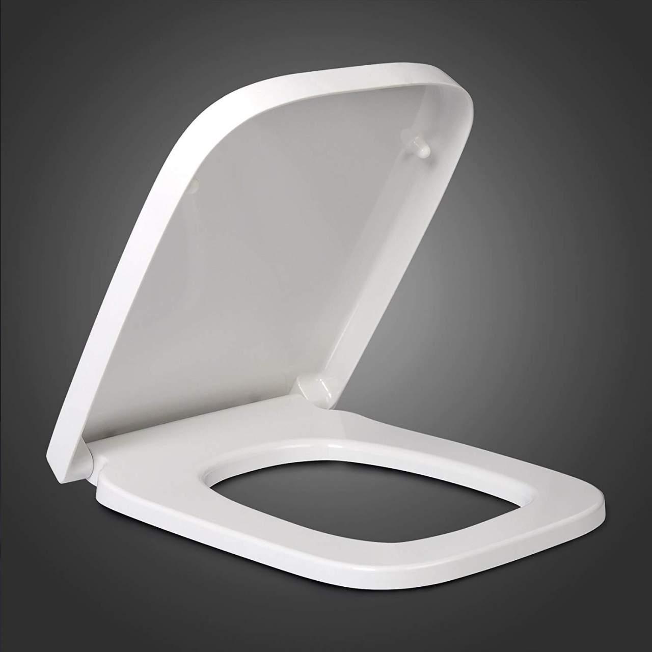 kelihood Toilettensitz O Typ Universal Warmer Toilettensitz Toilettensitz Toilettensitz Weicher tragbarer Toilettensitz