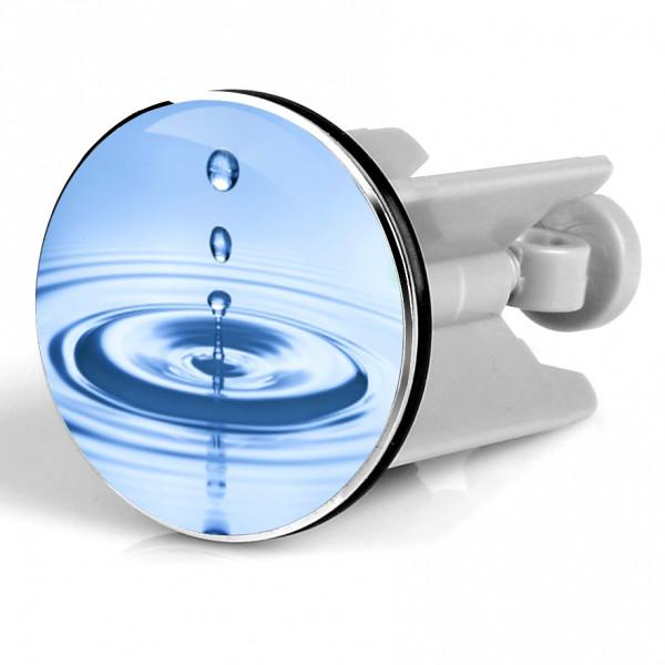 Waschbeckenstöpsel blue drops