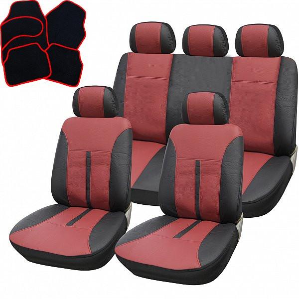 Auto Sitzbezüge Sitzbezug Schoner für PKW ohne Seitenairbag Schwarz AS7313
