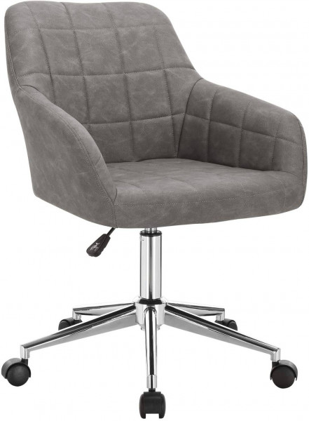 Faux leather office stool - Rita model
