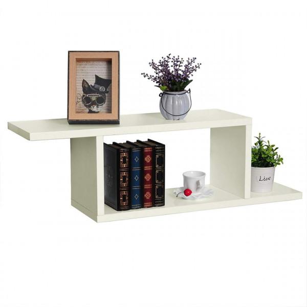 Bookcase wall shelf MDF wooden shelf RG9272