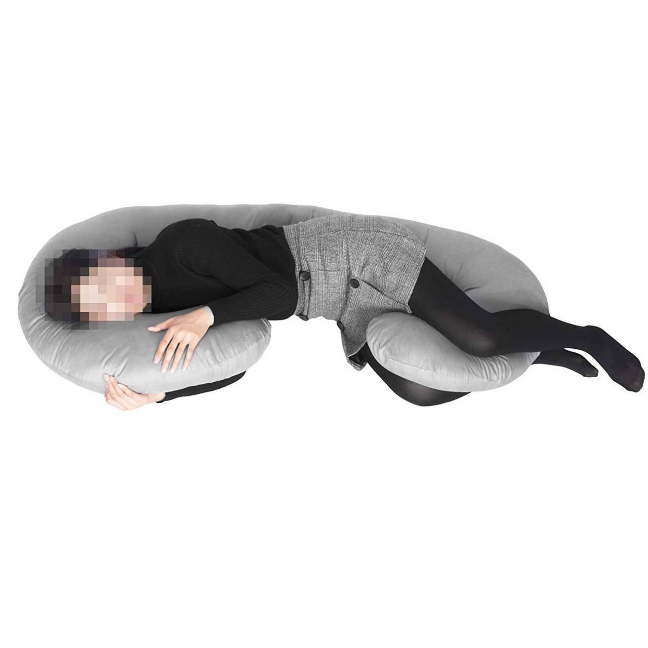Stillkissen Lagerungskissen Seitenschläferkissen Schwangerschaftskissen C-Kissen