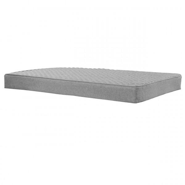 Palettenkissen mit Reißverschluss grau