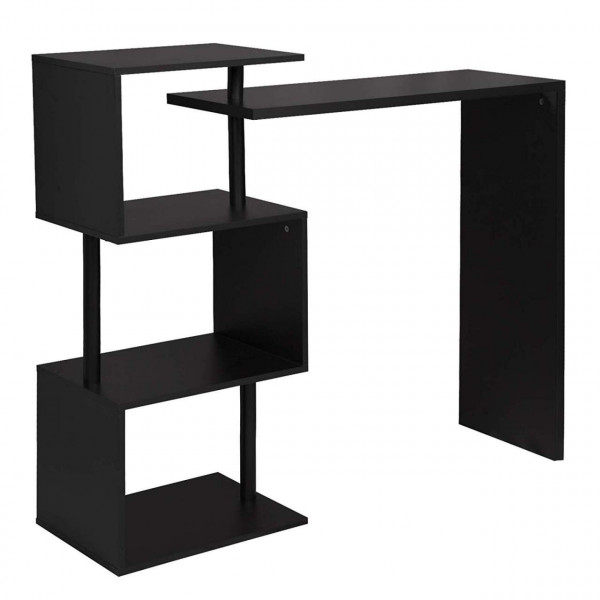 Black MDF bar table, model Judy