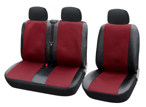Auto Sitzbezüge für Transporter ohne Seitenairbag AS7324