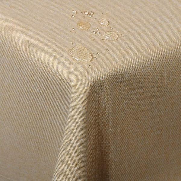 Tischdecke Tischtuch waschbar Sand