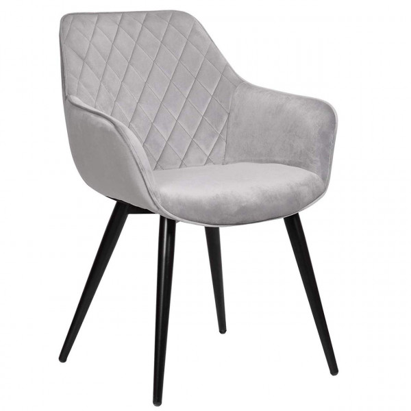 Velvet dining chair - Model Beca
