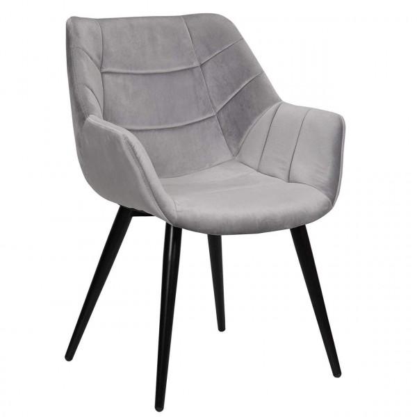 Velvet dining chair - Model Amilie