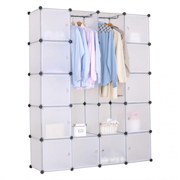 Regalsystem Kleiderschrank mit T