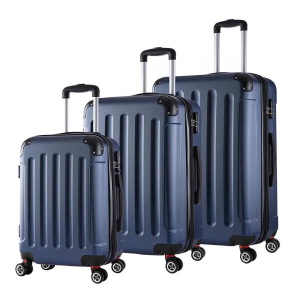 Reisekoffer Trolley Hartschale 4 Rollen Volumen erweiterbar