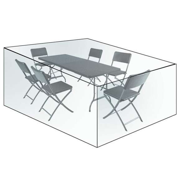 Furniture Protective Cover for Garden Furniture Sets Waterproof PE Tarpaulin,Transparent
