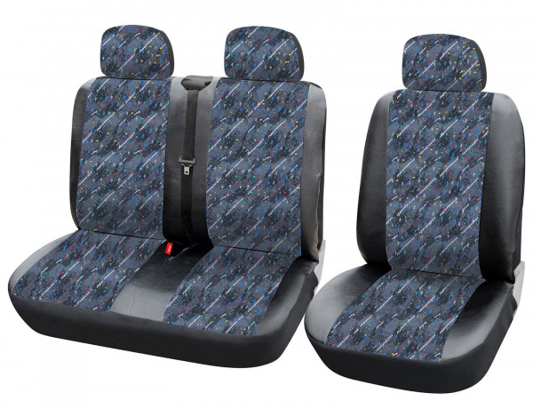 Car seat covers for vans without side airbag AS7332