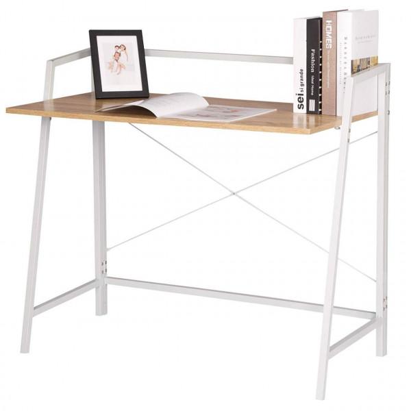 Arbeitsschreibtisch aus Holz & Metall - Modell Damey