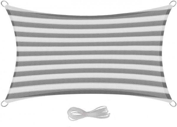 Sonnensegel & Sonnenschutz HDPE-Gewebe für Balkon, gestreiften