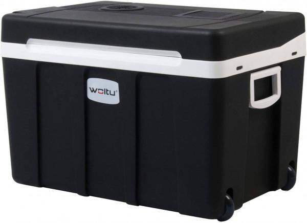 Kühlbox mi Rollen für Auto & Camping Warm-Kalt 50L A++