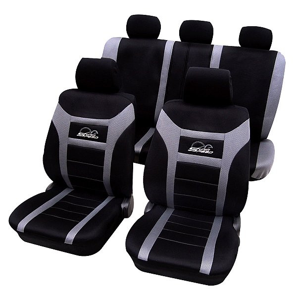 Car seat covers made of polyester model Speed