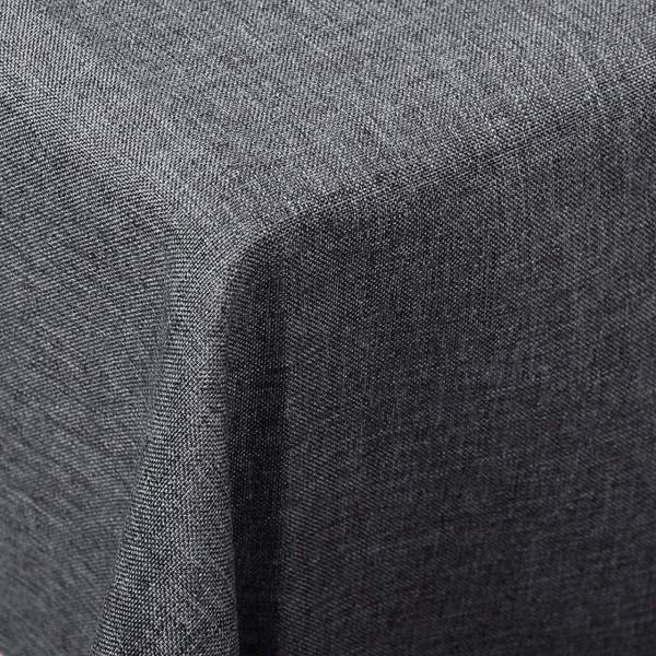 Tischdecke Tischtuch waschbar grau