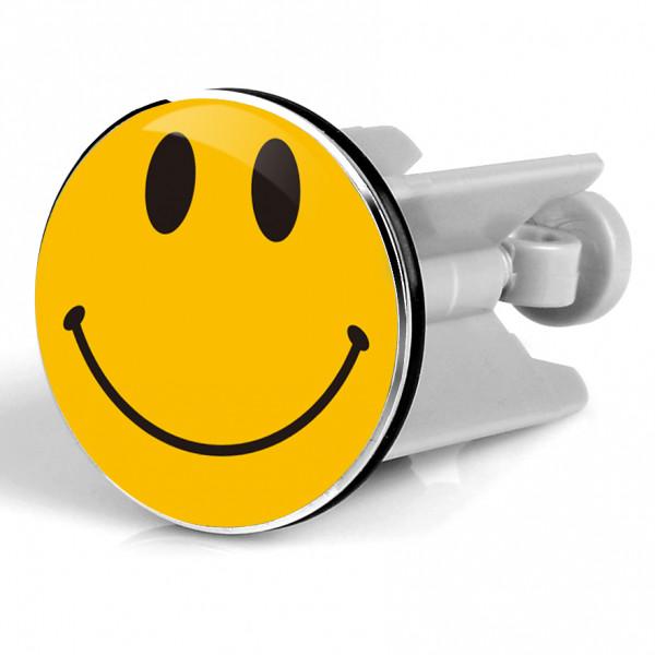 Waschbeckenstöpsel Smiley