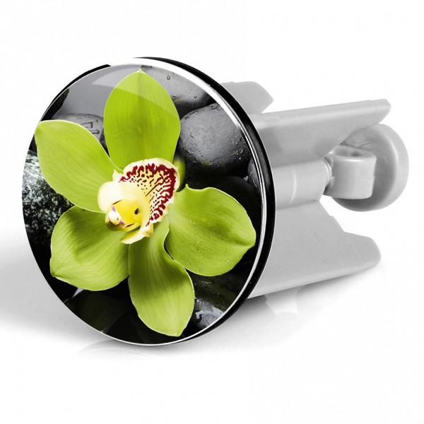 Waschbeckenstöpsel Green Flower