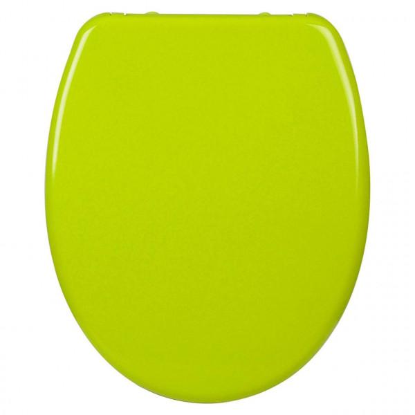 Toilettensitz Duroplast Absenkautomatik Grasgrün