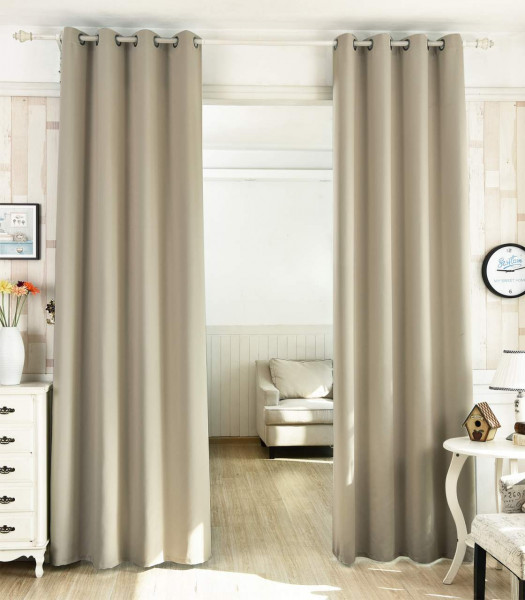 Curtains with eyelets in different variants, opaque