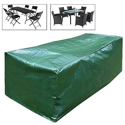 Sitzgruppe Schutzplane Grün