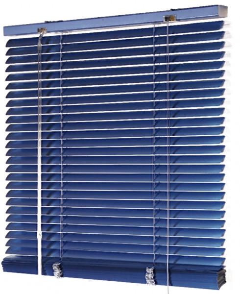 Jalousie Aluminium lichtdurchlässig Blau B 60 cm x L 250 cm
