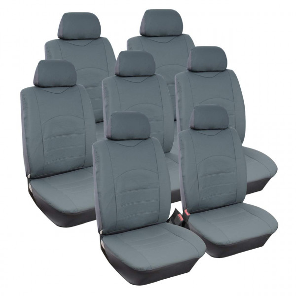 Seat cover for VAN without side airbag AS7235gr-7