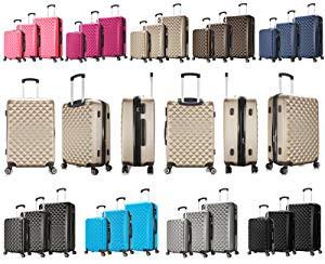 Reise Koffer Trolley Hartschale 4 Rollen