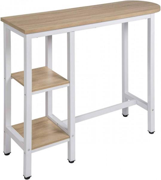 Bartisch, Metallgestell, Tischplatte aus MDF, Modell Alice