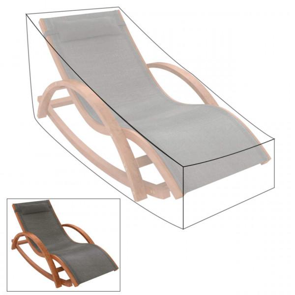 Garden Furniture Cover for Sun Lounger , Transparent