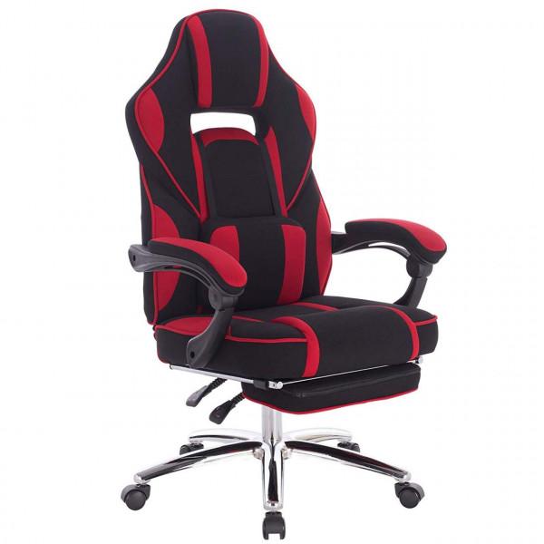Gaming Stuhl Bürostuhl Stoffbezug höhenverstellbar
