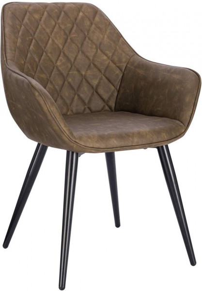 Leatherette kitchen chairs - model Samira