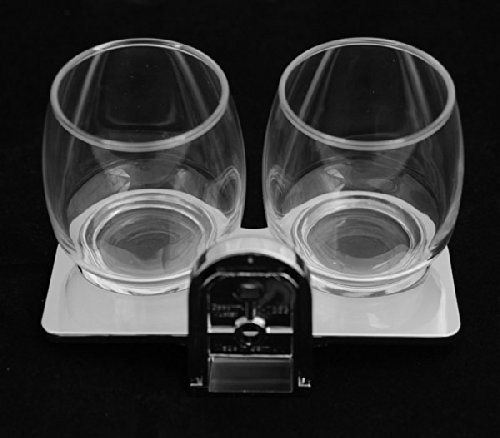 Doppelter Becher-Glashalter mit Gläser