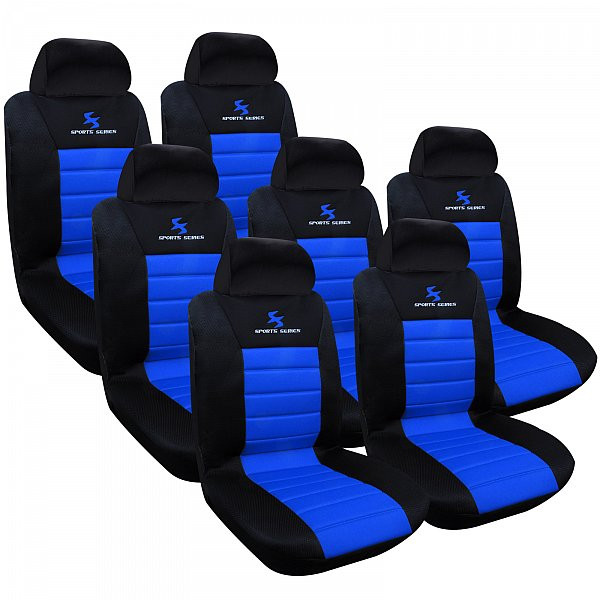 Set of 7 seat covers universal size