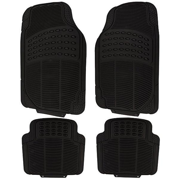 Auto Fußmatten Schwarz