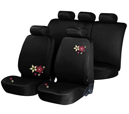 Auto Sitzbezug Schwarz