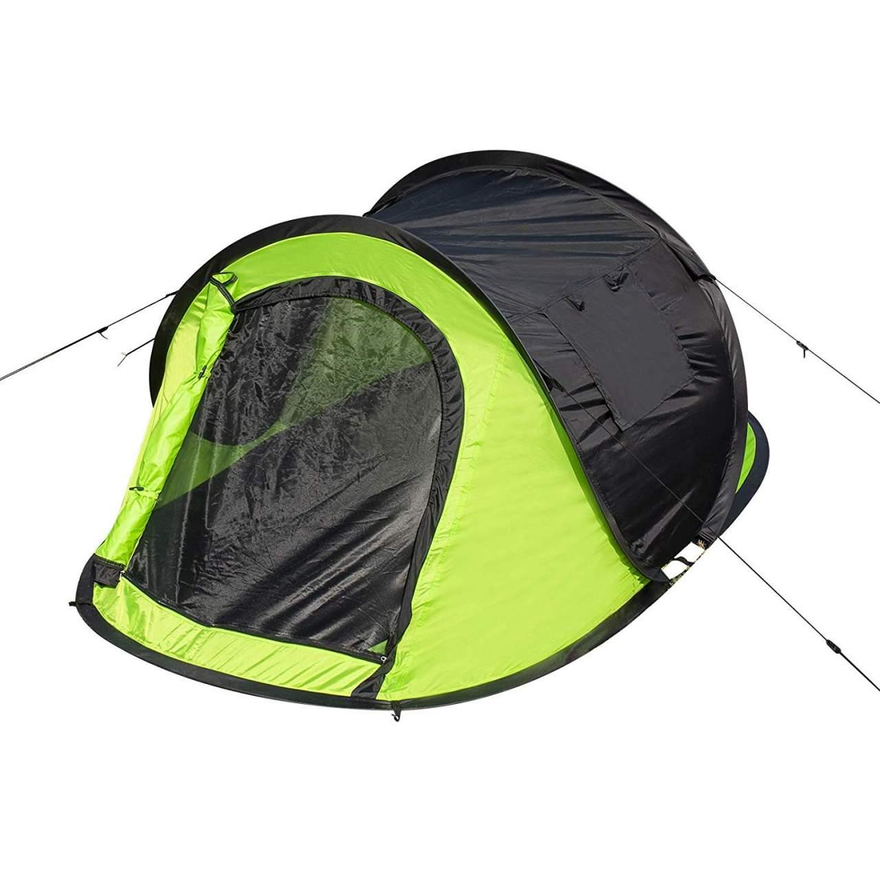 Camping Pop Up Zelt für 2 3 Personen mit Tragetasche