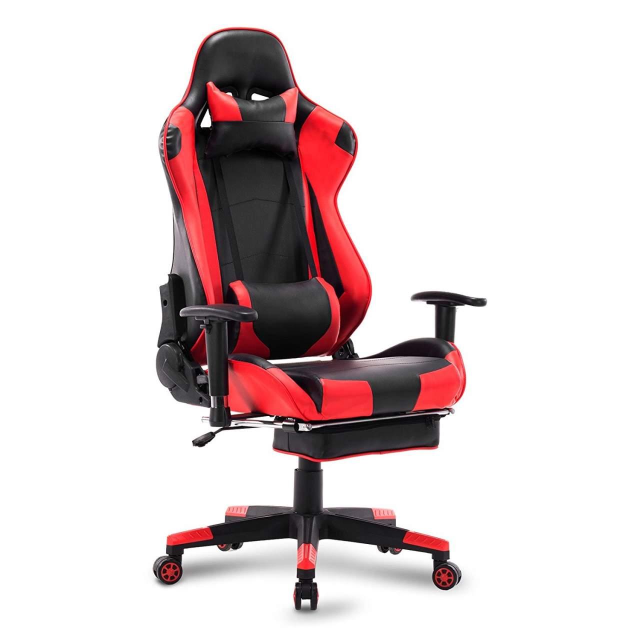Design Racing Chefsessel Drehstuhl Bürostuhl Schreibtischstuhl Gaming Sportsitz