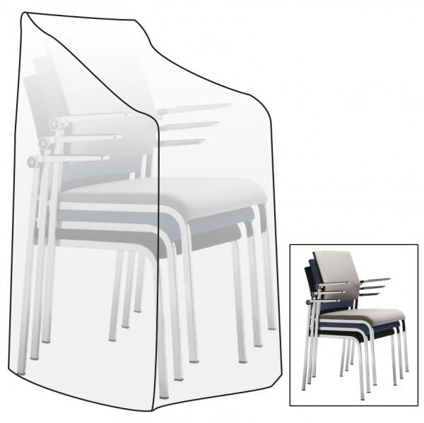 Garten Schutzhülle Abdeckhaube Sitzgruppe Möbel Plane Hülle transparent GZ1172tp